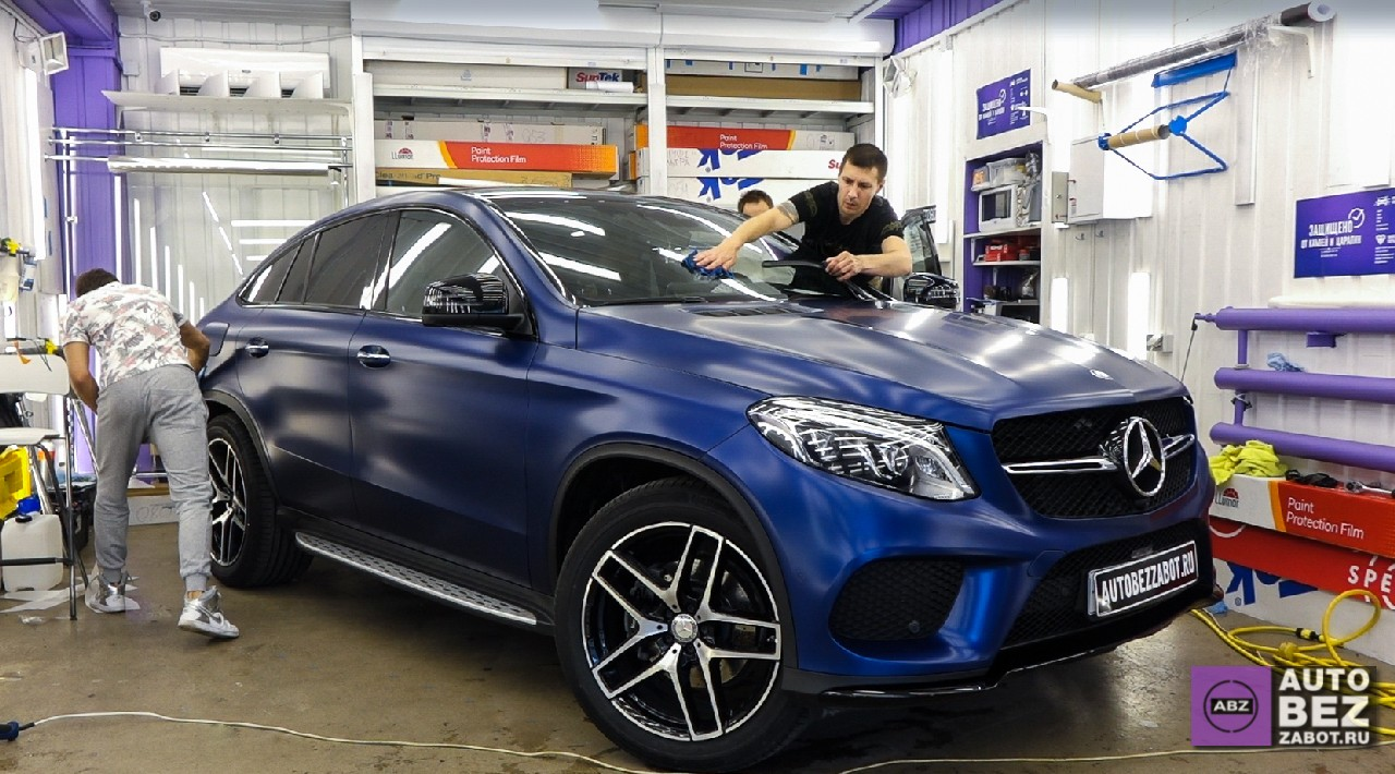 Фото Покрыли матом Mercedes-Benz GLE Class Coupe.